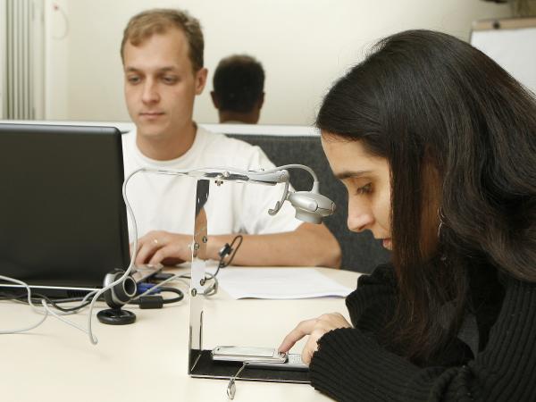 Testes em laboratório